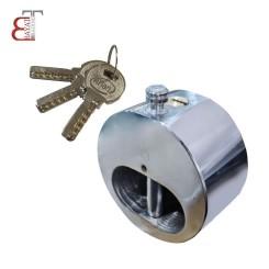 - @ قفل گرد فولادی استیل آرین