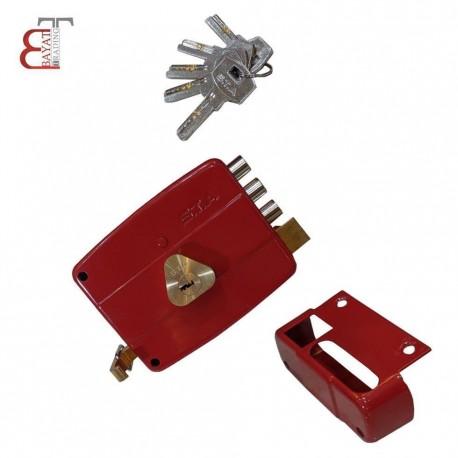- 1 قفل حياطي كليد معمولي STA سه لول