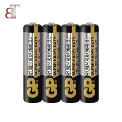 - * باتری قلمی GP سوپر هوی دیوتی شیرینگ 4 عددی