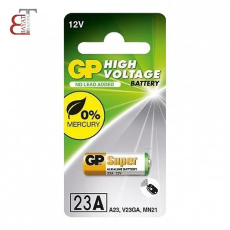 - * باتري GP 23A سوپر آلكالاين 1 عددي