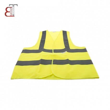 لباس كار زرد شبرنگ دار نورس 4 خط